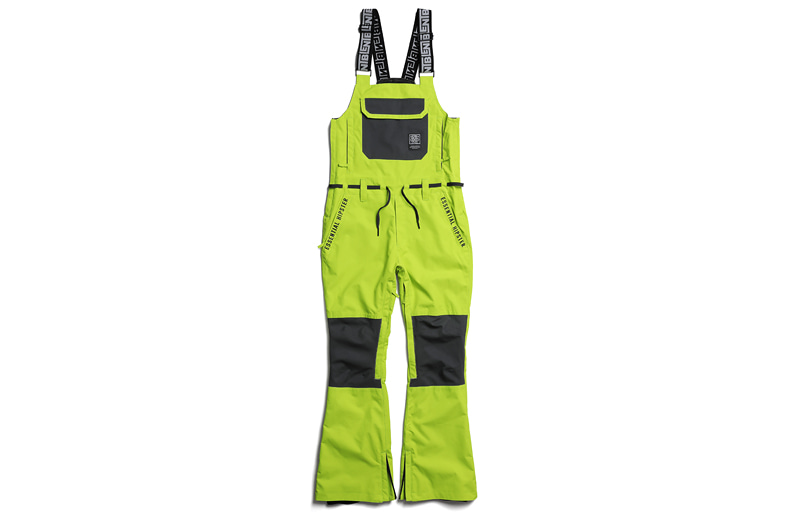 1819 BLENT FIESTA OVERALL PANTS LIME 블렌트 피에스타 오버롤팬츠 라임